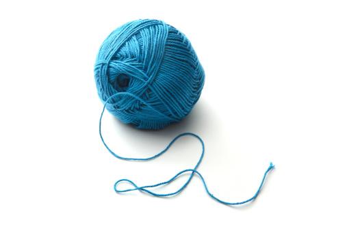 編み込み「繊維:ブルーのウール」:スマホ壁紙(16)