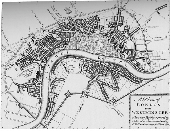 18th Century Style「Plan of London and Westminster, 1749 (1903)」:写真・画像(13)[壁紙.com]