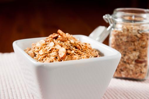 Granola「Honey Almond Granola with Shredded Coconut」:スマホ壁紙(7)