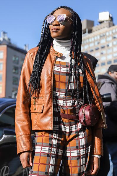 Achim Aaron Harding「Street Style - New York Fashion Week February 2019 - Day 2」:写真・画像(1)[壁紙.com]
