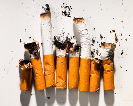 Burnt「Smoked Cigarettes in Row」:スマホ壁紙(17)