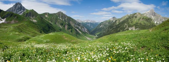 Wilderness Area「lechtal panorama」:スマホ壁紙(8)