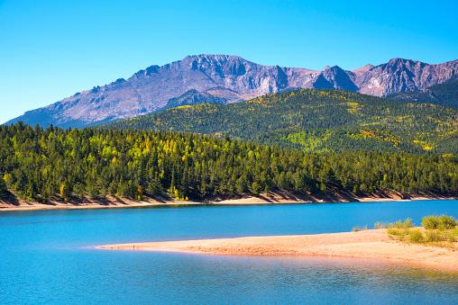 Aspen Tree「Pikes Peak, Crystal Creek Reservoir, Colorado」:スマホ壁紙(11)