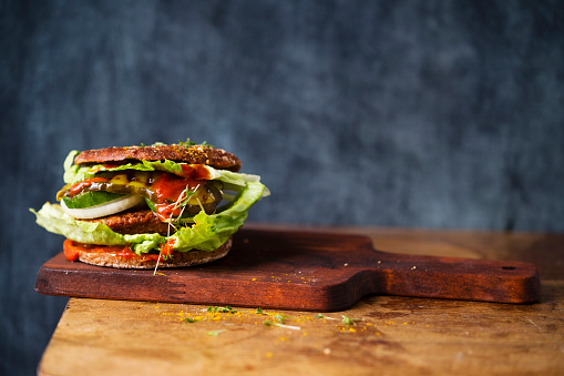 Burger「Veggie Burger」:スマホ壁紙(13)