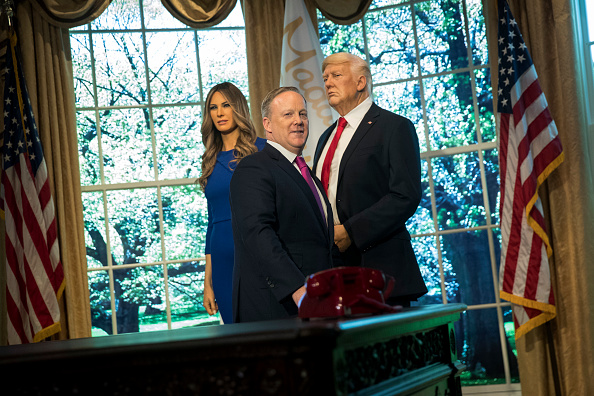 Wax「Sean Spicer Appears At Madame Tussaud's Unveil Of Melania Trump Wax Figure」:写真・画像(15)[壁紙.com]