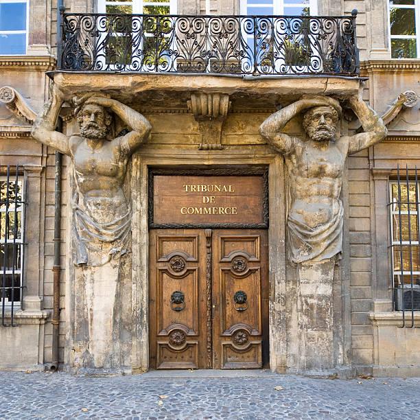 Aix: Doorway with caryatids:スマホ壁紙(壁紙.com)