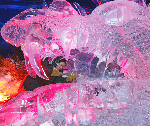 Ice Sculpture「Ice And Snow Festival Held In Belgium」:写真・画像(15)[壁紙.com]