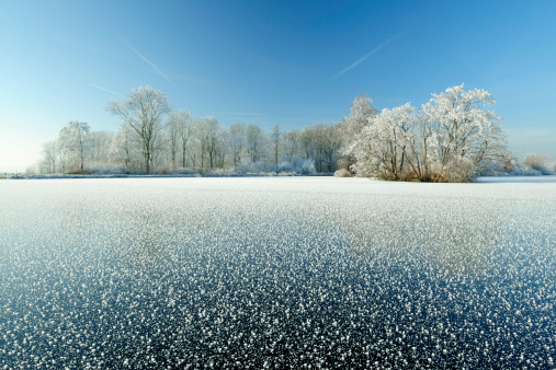 Netherlands「Winter landscape in the Netherlands」:スマホ壁紙(14)