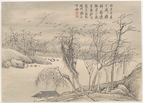 Water's Edge「Winter Landscapes And Flowers. Creator: Qian Weicheng.」:写真・画像(9)[壁紙.com]