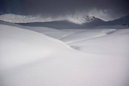 雪景色「冬の風景 」:スマホ壁紙(7)