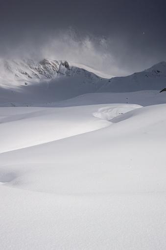 雪景色「冬の風景 」:スマホ壁紙(1)