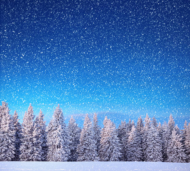 Winter Landscape:スマホ壁紙(壁紙.com)