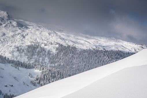 雪景色「冬の風景 」:スマホ壁紙(4)
