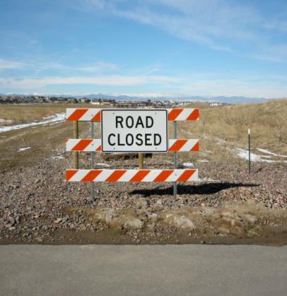 Guidance「Dead end road sign Colorado USA」:スマホ壁紙(13)