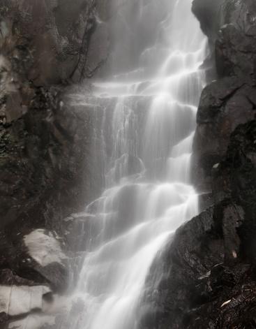 Waterfall「Flowing water on the rocks」:スマホ壁紙(13)