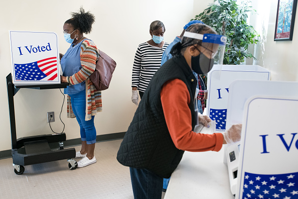 Day「Early Voting Underway In South Carolina」:写真・画像(15)[壁紙.com]