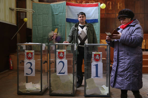 Crimea Goes To The Polls In Crucial Referendum:ニュース(壁紙.com)
