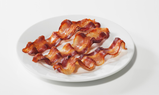 Bacon「Bacon on plate」:スマホ壁紙(3)