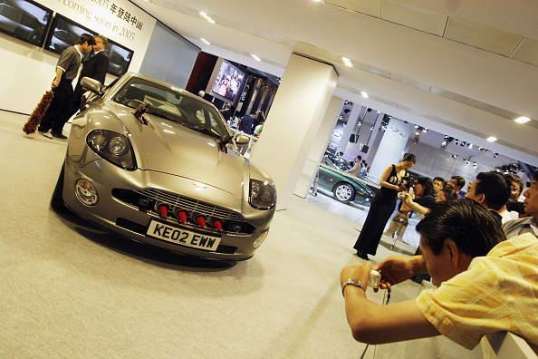Wheel「Foreign Companies Tempt Chinese Motorists At Beijing Motor Show」:写真・画像(9)[壁紙.com]