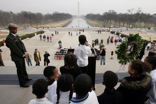 Win McNamee「Ceremony At Lincoln Memorial Honors Martin Luther King Jr」:写真・画像(8)[壁紙.com]