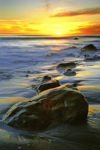 Spirituality「vivid beach sunset」:スマホ壁紙(8)