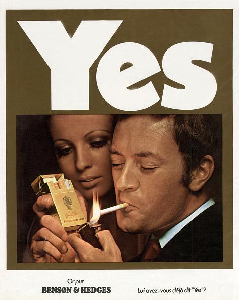 Cigarette「Advertising for Benson and Hedges cigarettes in February 1970」:写真・画像(10)[壁紙.com]