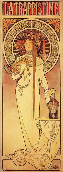 Art Nouveau「Advertising Poster La Trappistine」:写真・画像(18)[壁紙.com]