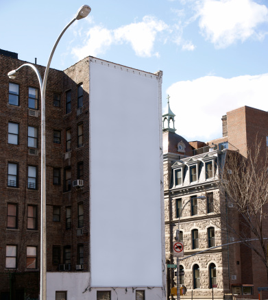 Square Shape「Advertising Billboard  Space in Manhattan New York」:スマホ壁紙(3)