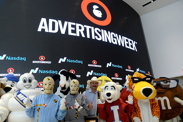 Finance and Economy「Advertising Week 2015 Rings The NASDAQ Closing Bell」:写真・画像(6)[壁紙.com]
