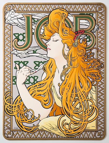 Art Nouveau「Advertising Poster For The Tissue Paper 'Job'」:写真・画像(11)[壁紙.com]