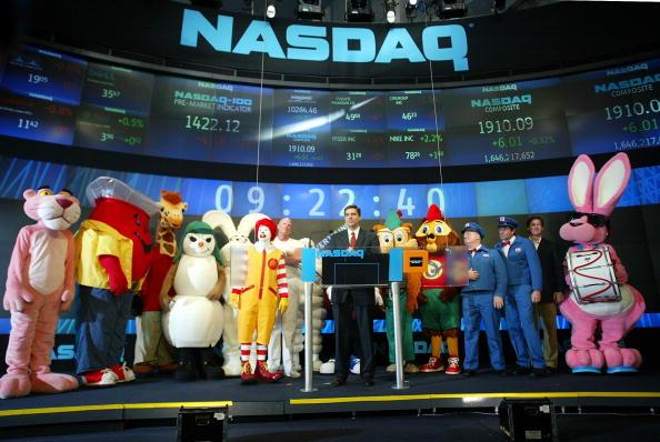 雪だるま「Advertising Icons Open The NASDAQ」:写真・画像(9)[壁紙.com]