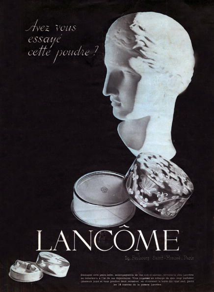 L'Oreal「Advertising for Lancome powder shade in October 1937」:写真・画像(13)[壁紙.com]