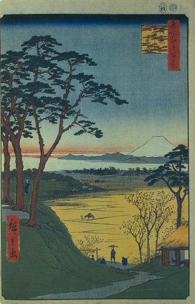 茶室「Grandpa's Teahouse in Meguro (One Hundred Famous Views of Edo), 1856-1858. Artist: Hiroshige, Utagawa (1797-1858)」:写真・画像(9)[壁紙.com]