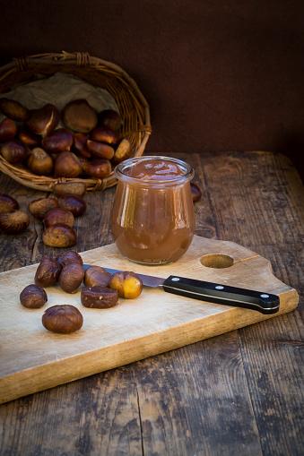 栗「Sweet chestnuts, roasted and sweet chestnut cream」:スマホ壁紙(19)