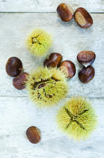 栗「Sweet chestnuts」:スマホ壁紙(4)