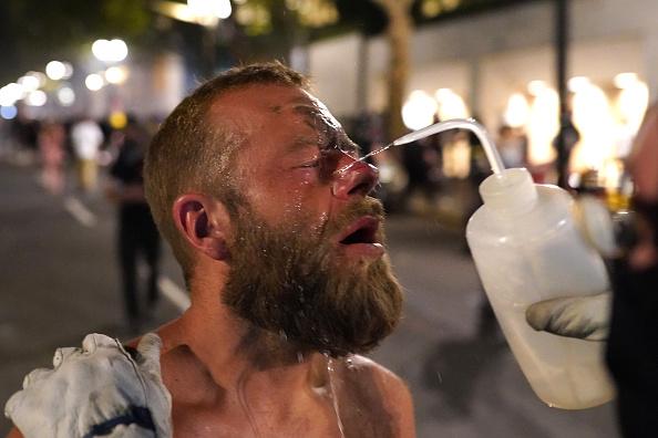 Oregon - US State「Feds Attempt To Intervene After Weeks Of Violent Protests In Portland」:写真・画像(3)[壁紙.com]