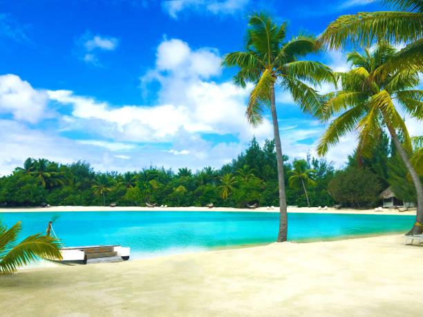 Bora Bora Tahiti Beach:スマホ壁紙(壁紙.com)