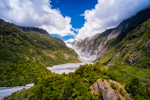 Westland National Park「Franz Josef Glacier On New Zealand's South Island」:スマホ壁紙(11)