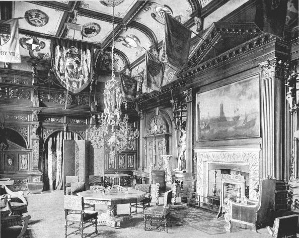 Wood Paneling「The Banqueting Hall」:写真・画像(3)[壁紙.com]