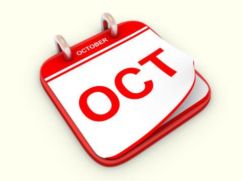October「Calendar month October」:スマホ壁紙(0)