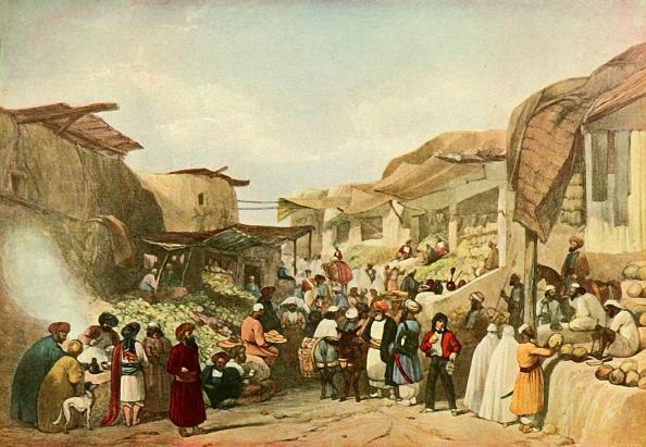 Kabul「The Main Street In The Bazaar At Kabul In The Fruit Season」:写真・画像(17)[壁紙.com]