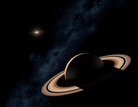 Solar System「Saturn planet in solar system, close-up」:スマホ壁紙(11)