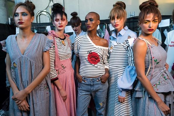 Fashion Forward Dubai「BY Sauce X Shoestova Backstage - FFWD October 2017」:写真・画像(2)[壁紙.com]