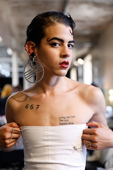 London Fashion Week「MAN - Backstage - LFWM June 2017」:写真・画像(16)[壁紙.com]