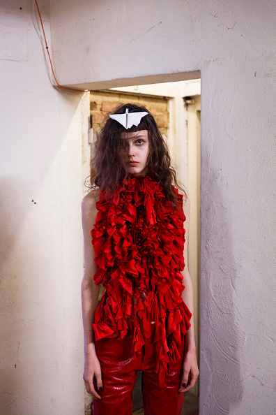 Tristan Fewings「Marques'Almeida - Backstage - LFW SS16」:写真・画像(17)[壁紙.com]