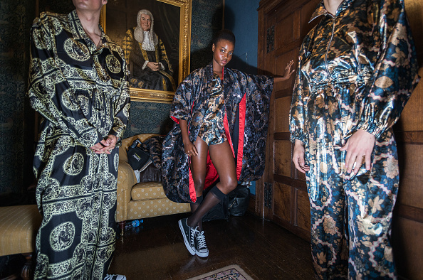 London Fashion Week「Edward Crutchley - Backstage - LFWM June 2017」:写真・画像(4)[壁紙.com]