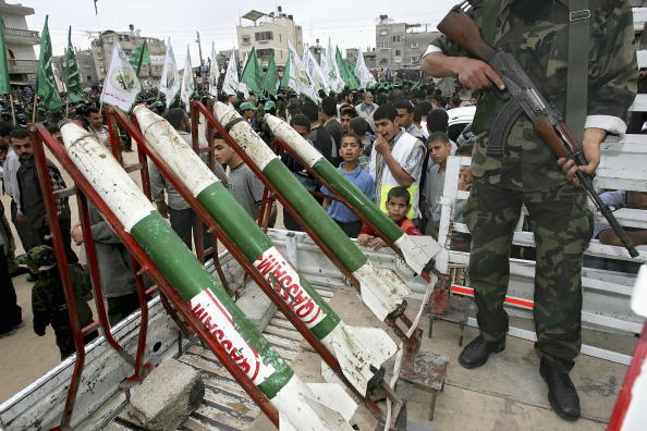 Homemade「Military Wing Of Hamas Hold Rally Before Start Of Election Campaigns」:写真・画像(14)[壁紙.com]