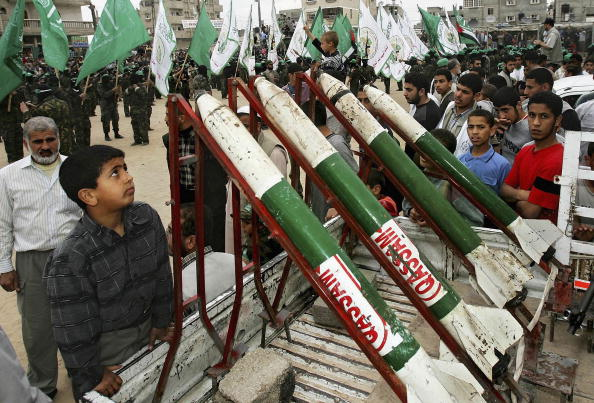 Homemade「Military Wing Of Hamas Hold Rally Before Start Of Election Campaigns」:写真・画像(13)[壁紙.com]