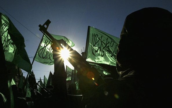 Hamas「Hamas Militants March Against Israeli Military Action」:写真・画像(3)[壁紙.com]