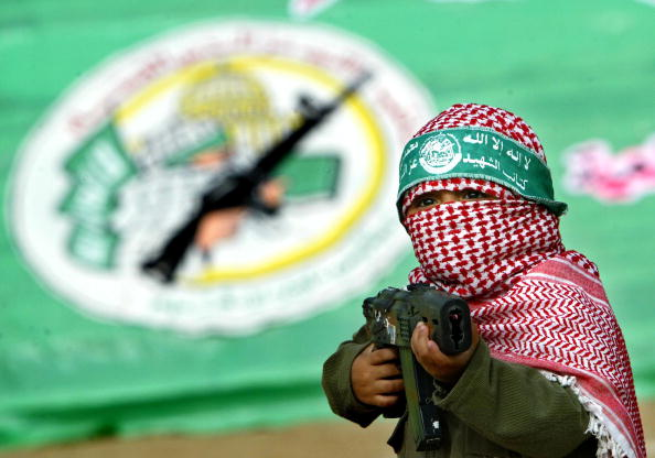 Hamas「Hamas Holds Rally To Commemorate Death Of Military Leader」:写真・画像(1)[壁紙.com]